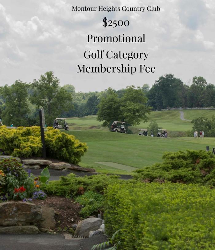 2020 Golf Membership Promotion
