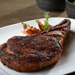 12 ounce, 45-day, dry aged Prime New York Strip steak